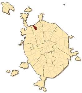 Район Ховрино на карте