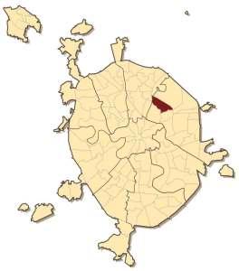 Район Богородское на карте Москвы
