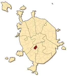 Академический район на карте