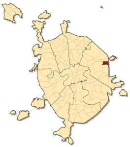 Восточном Измайлово на карте