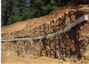 укрепления слабых грунтов за счет глубинного смешивания