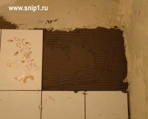 Как выложить плитку