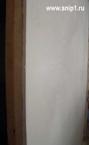 стена шпаклёванная
