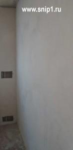 Ошпаклеванные стены