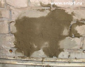 работа песчано-цементной смесью
