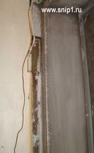 ремонт пространства между дверьми