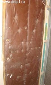 дерматиновая дверь
