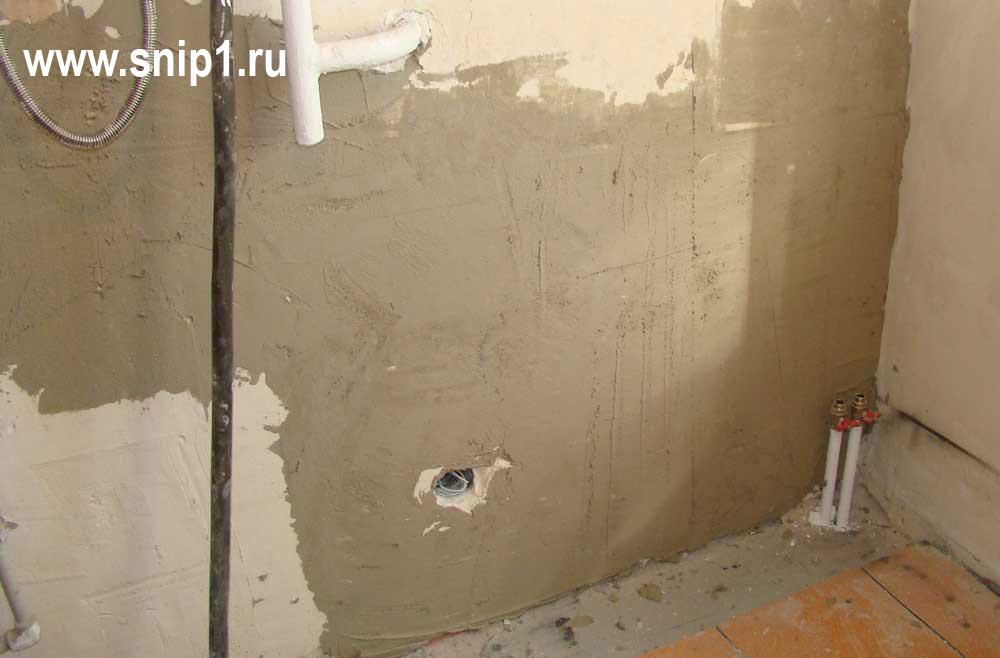Как выровнять стены в хрущевке