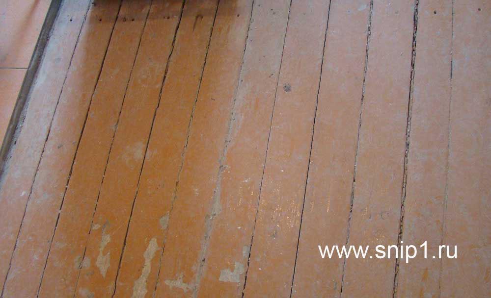 Как поменять деревянные полы в квартире