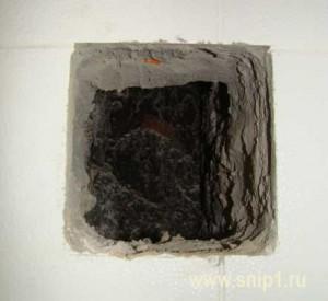 Дымоход в кухне
