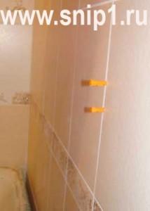 Крепление полотенцесушителя своими руками