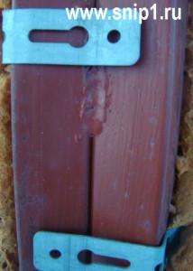 Крепление пластикового окна к металлическому каркасу