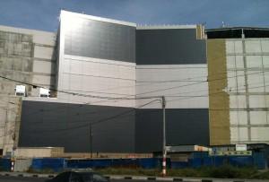 """Строительство тогового центра """"Небо"""""""