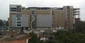 Закрытие утеплителя навесным фасадом