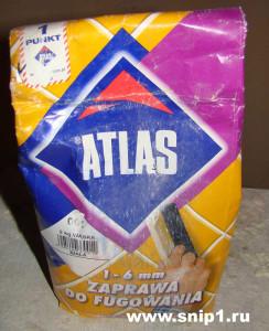 Смесь для затирания швов ATLAS