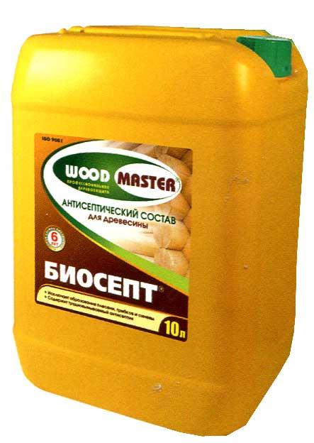 Изготовить антисептик для древесины состав