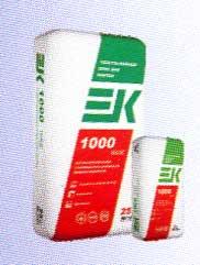 EK 1000 WIDE ТОЛСТОСЛОЙНЫЙ КЛЕЙ для плитки для внутренних работ в помещениях с различным уровнем