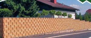 Забор из Дюрисола