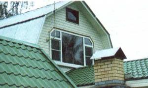Окно из ПФХ сложной конфигурации