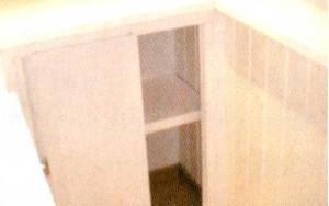 Внутренний шкаф  из ПВХ