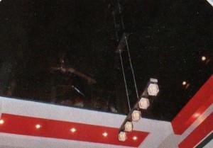"""Натяжной потолок """"Чёрный глянец"""""""
