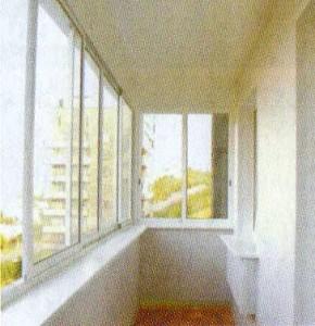 Внутренняя отделка балконов и лоджий вагонкой ПВХ с утеплением