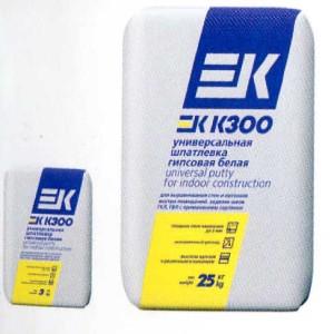 Шпатлевка гипсовая ЕК К300
