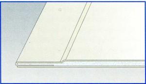 Стандартный лист Гипрок GKB 9.5 (Pro Edge) ширина 1200 мм