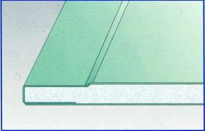 Влагостойкий лист Гипрок GKBi 12.5 (Pro Edge) ширина 1200 мм