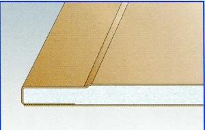 Усиленный лист Гипрок GEK 13 ширина 1200 мм