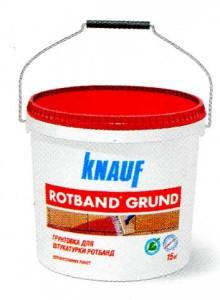 Грунтовка КНАУФ Ротбанд - Грунд
