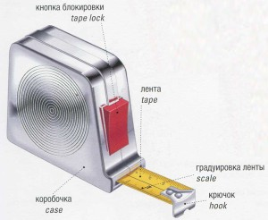 Рулетка. Tape measure