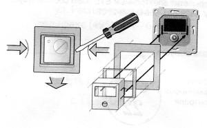 Установка термостата