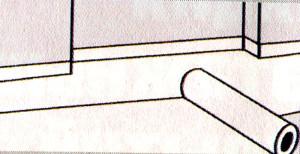 Панели из жесткого пенопласта. Подходят для изоляции ровных бетонных поверхностей