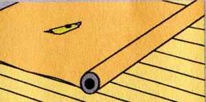 Зазоры между перекрытиями по деревянным балкам или старого дощатого пола