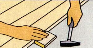 из массива древесины, а также пластины паркета и ламината, которые в продаже представлены во различных