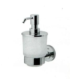 Стеклянный диспенсер для жидкого мыла с настенным держателем Код поставщика: А5536900