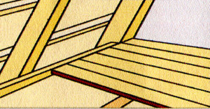 В качестве рабочей поверхности можно использовать, например, шпунт. В качестве альтернативы также можно использовать конструкционные плиты/панели.