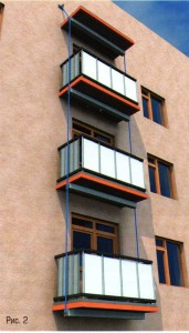 укрепление плиты балкона в хрущевке