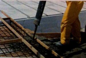 Процедура бетонирования