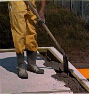 Уплотняем бетон