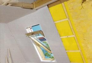 Изоляция и обшивка крыши