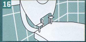 Простая и быстрая система крепежа и имеющиеся отверстия для крепления позволяют вручную установить на унитаз любую модель сидения