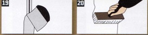 Если стыки между гипсокартонными панелями заделываются без армирующей ленты, необходимо использовать специальную шпаклевку, например. UNIFL0TT