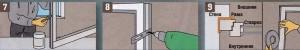 Во время установки предварительно обработанных деревянных окон необходимо дважды покрыть толстым слоем лазури все места, которые позже будут недоступны и будут соприкасаться