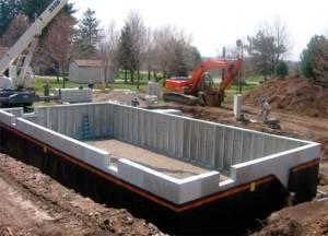 Особенности устройства оснований зданий и сооружений, возводимых на грунтах, обладающих свойствами