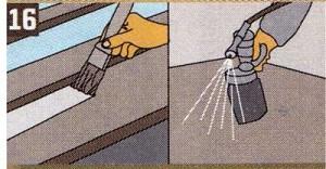 Заключительное покрытие нанесите тем же способом. Внутренние двери с гладкой поверхностью могут быть перекрестно окрашены