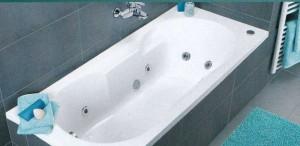 Установка ванной с арматурой