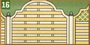 Для заборов из древесины дугласии нужно использовать крепления из нержавеющей стали, чтобы избежать окрашивания.  Совет 2: Если забор проходит по границе