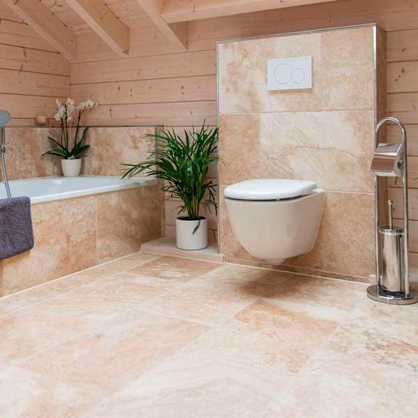 Оттенок плитки в ванной